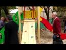 Инспектирование детских площадок г.Алупка депутатом Лери Сванидзе.