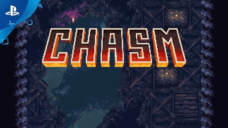 Chasm Launch Date Teaser Trailer PS4 PS Vita