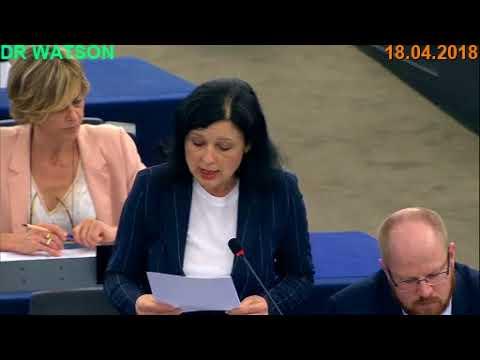 18.04.2018 - CAMBRIDGE ANALYTICA, FACEBOOK DATA PROTECTION – FULL EU DEBATE - NotOnMSM