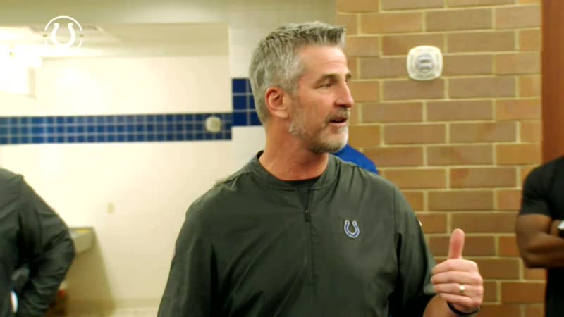 Frank Reich and Jim Irsay - Victory Speech Titans