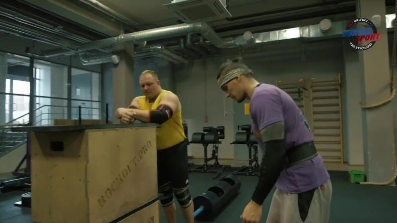 [Vortex Sport Video] Жесткие испытания на силу и заруба от Дена Вовка! Зевс VS дядя Леша