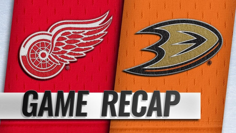 Terry's shootout goal leads Ducks past Red Wings 3 2