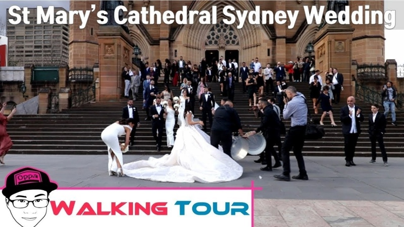 St Mary's Cathedral Sydney Wedding 18th August 2018   Sun Wukong Oppa