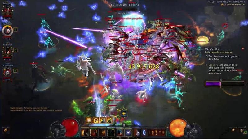 Diablo 3 | GR146 4 Man | Rank 2 EU (PoV Barb Support)