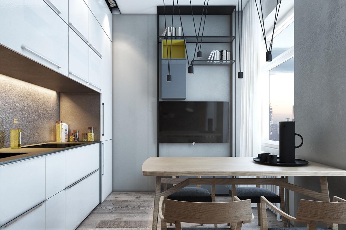 Дизайн квартиры #дизайнмосква