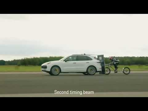 Operation Pacemaker: Cycling At 149mph Behind A Cayenne Turbo