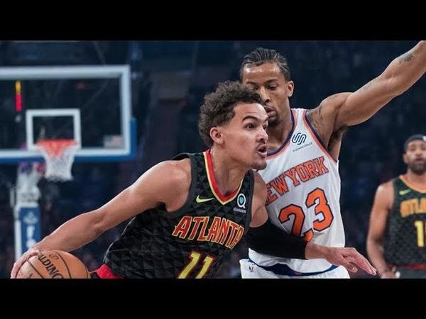 Atlanta Hawks vs New York Knicks - Full Game Highlights | Oct 17, 2018 | NBA 2018-19