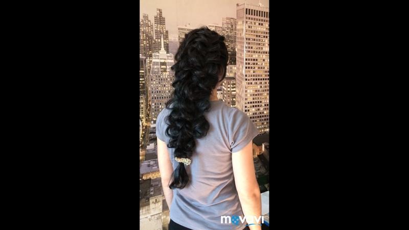 Плетение стиле греческая коса