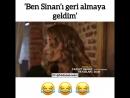 Ben Sinan'ı geri almaya geldim🔥