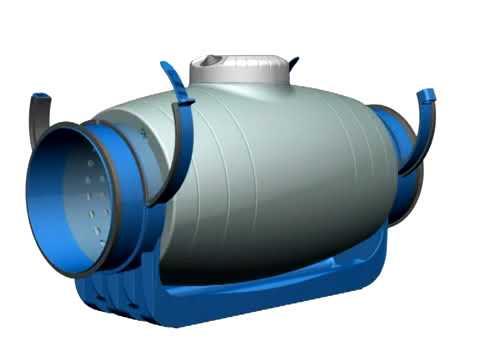 Видеообзор канального вентилятора Soler Palau TD Silent Испания с шумоизоляцией