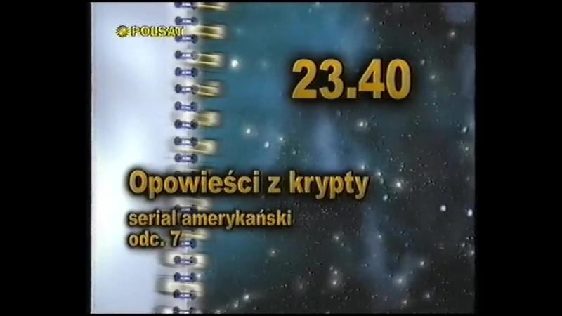 Программа передач и конец эфира (Polsat [Польша], 27.03.1999)