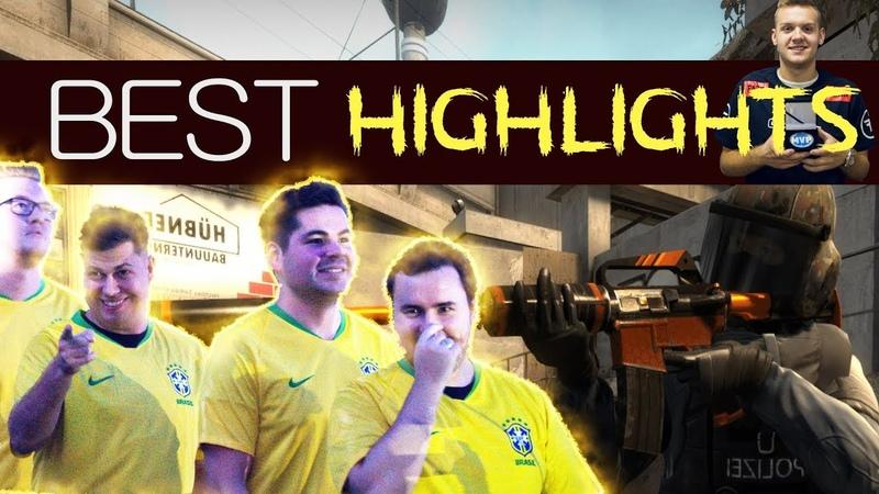 ЛУЧШИЕ МОМЕНТЫ ESL One Belo Horizonte - HIGHLIGHTS CS:GO(SK,MOUZ,Liquid,FAZE)