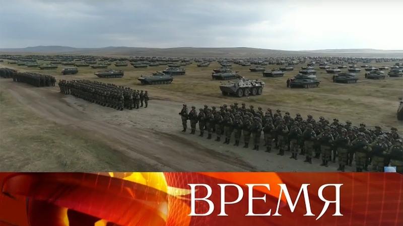 Крупнейшие учения армии и флота России «Восток-2018»