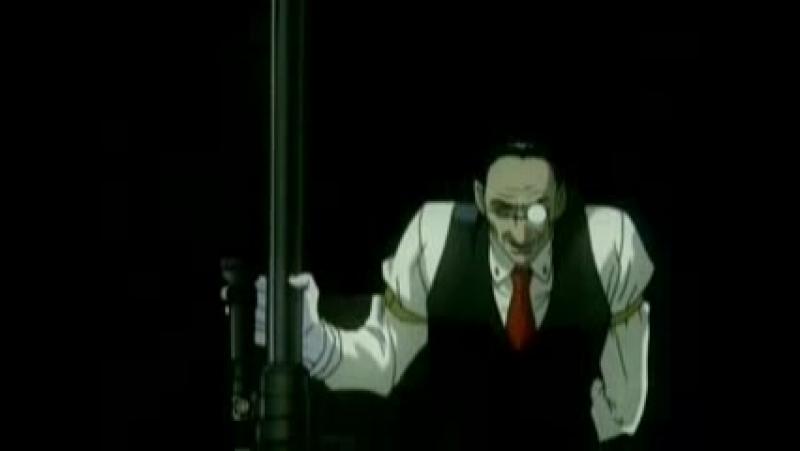 Робоцып-пародия на аниме Хелсинг(нарезки)