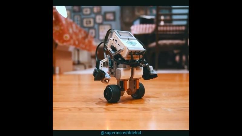Самобалансирующий бот на Lego EV3