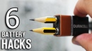 6 Easy Hacks with Batteries