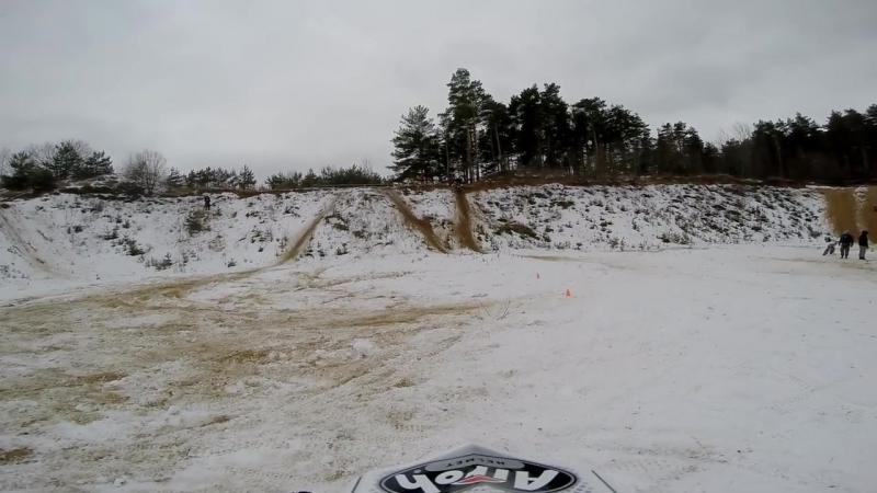 Enduro racing. Эндуро Зимнее танго 15.02.2015