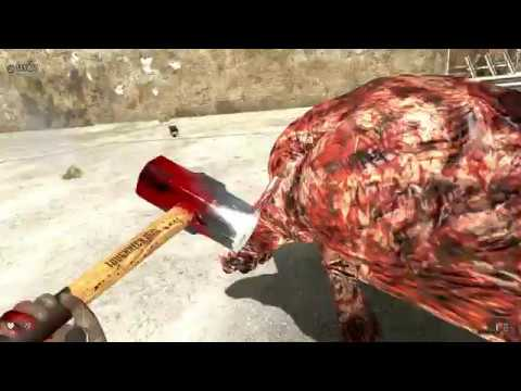 Serious Sam 3 бык оборотень vs кувалда уровень сложности сэм х51