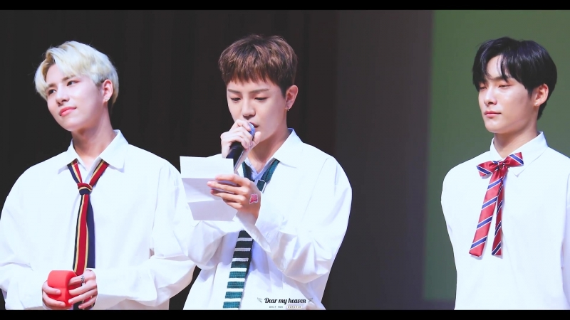 FANCAM | 19.08.18 | Donghun (Letter From A.C.E) @ 16th fansign CTS Art Hall