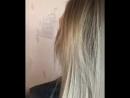 Shatush шатуш растяжка цвета Сомбреро блонд