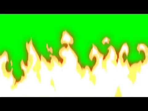 Видео переход - Пламя (Футажи) (Хромакей) [Вставка для монтажа] 4