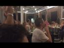 Смотрим футбол Россия ХорватияГреки пели Катюшу для нас , была очень приятно Спасибо Греком