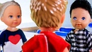 НОВЕНЬКИЙ В КЛАССЕ! Мультик с куклами, школа Для девочек Мама барби и Маша все серии про куклы игры в дочки матери распаковка мультики 2018