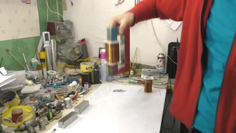 GENERATOR FROM MAGNETIC KEEPER EDWARD LIDSCALINE Magnetic Holder IGOR BELETSKY
