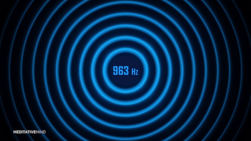 963 Hz   Pineal Gland Activation Tone   Solfeggio Soundscapes