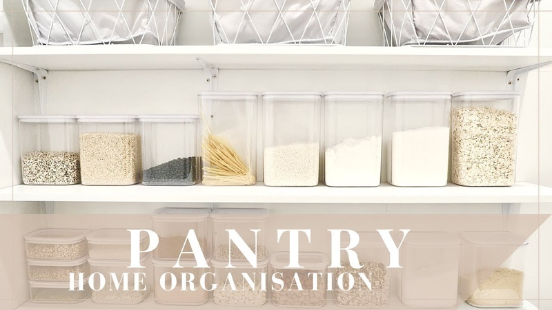 HOME ORGANISATION | Pantry Makeover