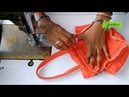 How To Make Fabric Purse Clutch Bag Part 2 How To Make Fabric Purse With Embroidery Work at Home