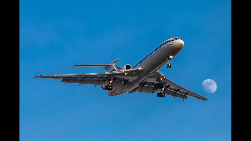 Landing to Madeira (LPMA) TU-154M