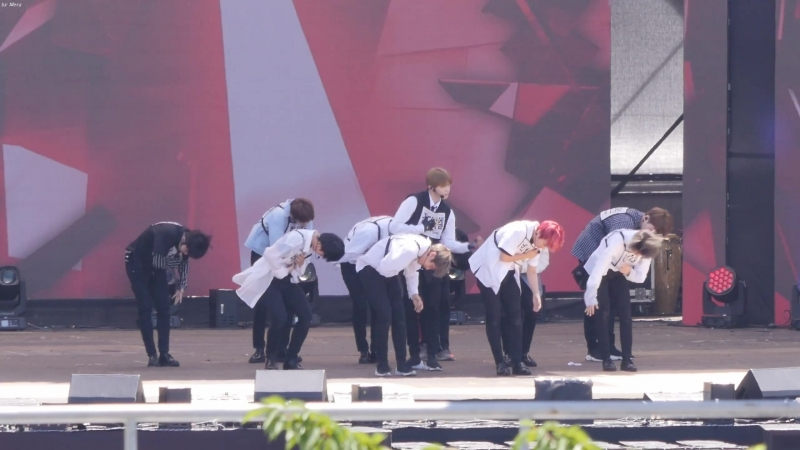 230718 Ulsan Summer Festival (Rehersal) - Wanna One Light 3