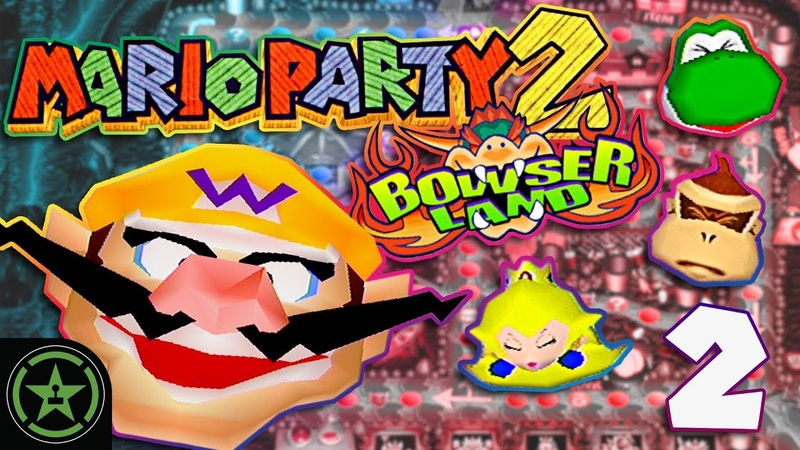 Bowser Pounds Everyone - Mario Party 2 with ProZD (2)   Let's Play