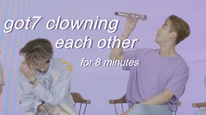 Got7 clowning each other for eight(ish) minutes