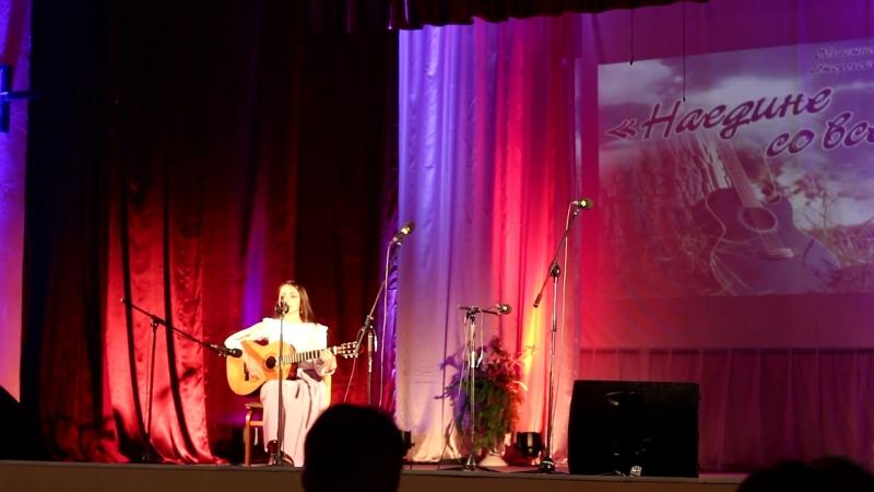 Екатерина Шеховцова -Спасибо за Победу Областной праздник-конкурс авторской и бардовской песни