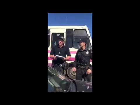 Полицейский с херней в штанах и голове