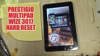 Prestigio Multipad Wize 3017 как снять блокировку или не загружается! hard reset