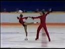 Олимпийские игры 1988 Фигурное катание пары Peggy Schwarz Alexander Koenig произвольная программа
