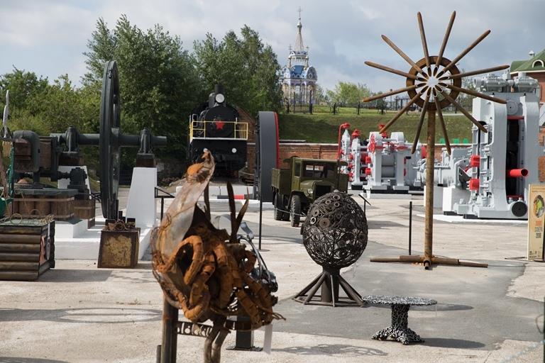 Таганрогский арт-объект из металлолома стал призером конкурса «ЛомоСфера»