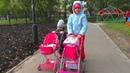 Куклы беби бон прогулка с колясками Моя сестра блогер в 2 года Дети видеоблогеры