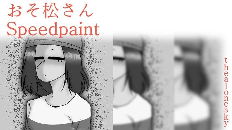 Osomatsu san Osomatsu From s2e21 Speedpaint