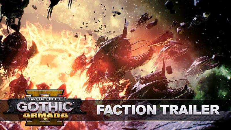 Battlefleet Gothic: Armada 2 - Фракционный трейлер