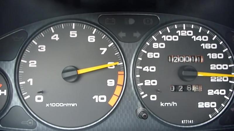 Honda Integra TYPE R VTEC 2.4 ОТ 0 ДО 240