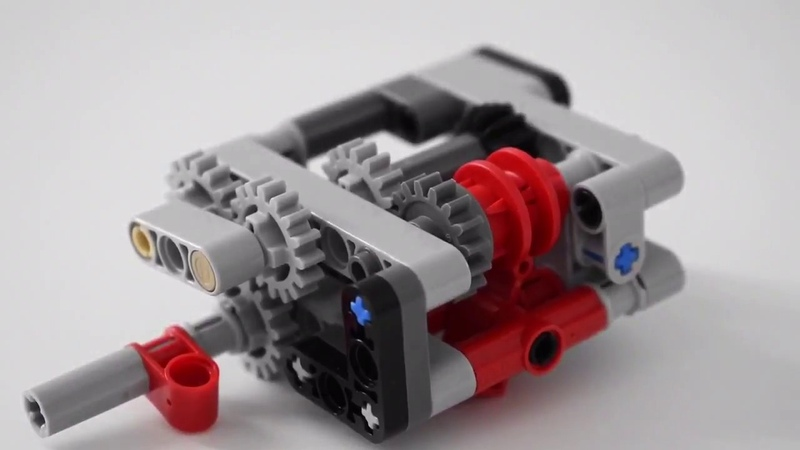 LEGO Automatic Gearbox with Speed Locking INSTRUCTIONS