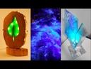 10 ULTIMATE EPOXY RESIN LIGHT WOODWORKING DIY SATYSFYING