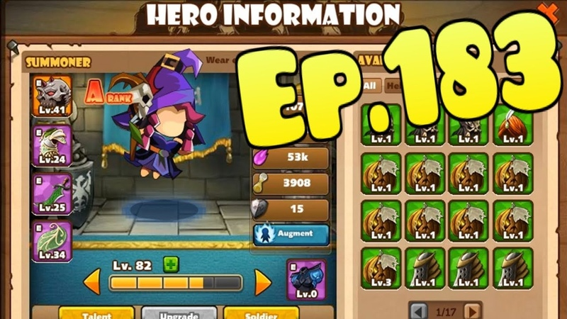 The King of Towers - Upgrade Hero A rank - Summoner - New Stats 103 level (Part 183)