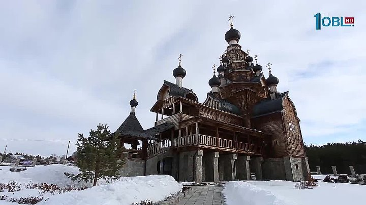 Село Верхняя Санарка Моя деревня Храм у дороги Источник