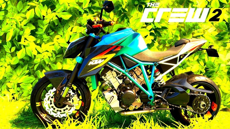 THE CREW 2 GOLD EDiTiON (TUNiNG) KTM 1290 SUPER DUKE R ABS PART 477 ...
