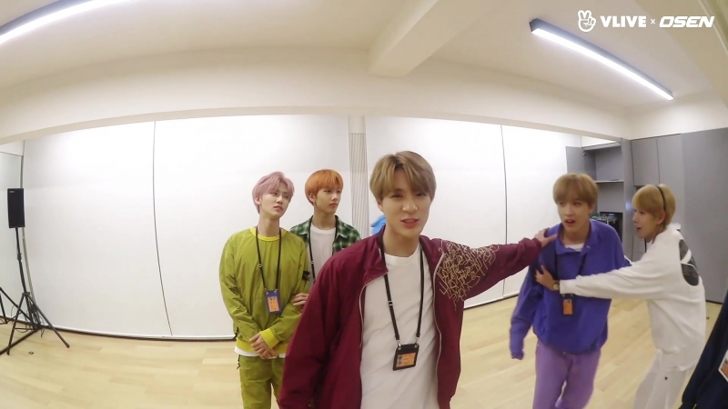 180922 Practice room challenge with OSEN с NCT Dream.